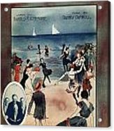 By The Beautiful Sea, 1914 Acrylic Print