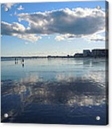 By The Sea In Maine Acrylic Print