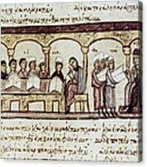 Byzantine Philosophy School Acrylic Print