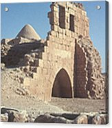 Byzantine Ruins Acrylic Print by Photo Researchers, Inc.