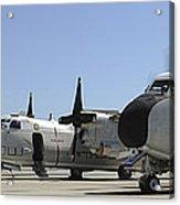 C-2a Greyhound Aircraft Start Acrylic Print