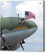 C-46 Tinker Belle Honors American Heros Acrylic Print