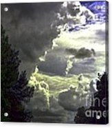 C Is For Clouds Acrylic Print