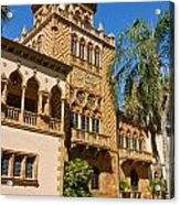 Ca D Zan  Winter Home Of John And Mable Ringling Acrylic Print
