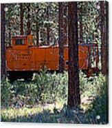 Cabin Car 2 Acrylic Print
