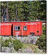 Cabin Car Acrylic Print