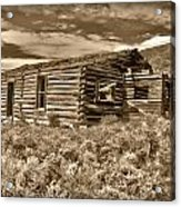 Cabin Fever Acrylic Print by Shane Bechler