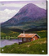 Cabin On Tangle Lake Acrylic Print