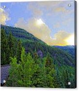 Cabin On The Mountain - Vail Acrylic Print
