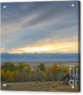 Cabin With A View Acrylic Print