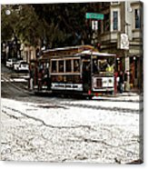 Cable Cars Acrylic Print