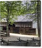Cable Mill Barn Cades Cove Acrylic Print