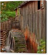 Cable Mill II Acrylic Print by Charles Warren