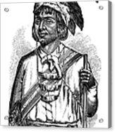 Caddo Chief, 1879 Acrylic Print