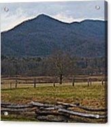 Cade's Cove - Smoky Mountain National Park Acrylic Print
