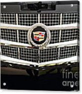 Cadillac . 7d9524 Acrylic Print by Wingsdomain Art and Photography