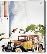 Cadillac Ad, 1929 Acrylic Print