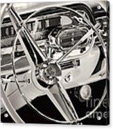 Cadillac Control Panel Acrylic Print
