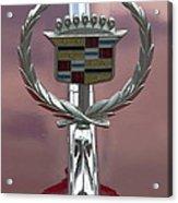 Cadillac Hood Ornament Acrylic Print