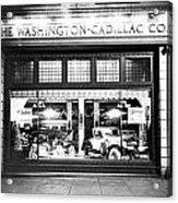 Cadillac Storefront, 1927 Acrylic Print