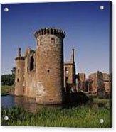 Caerlaverock Castle, Dumfries, Scotland Acrylic Print