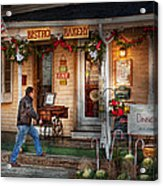Cafe - Clinton Nj - Bistro Bakery  Acrylic Print