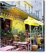 Cafe La Nuit Acrylic Print