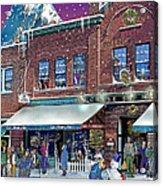 Cafe Monte Alto Acrylic Print
