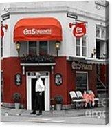 Cafe Sorgenfri Acrylic Print