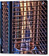 Caged Fire Acrylic Print