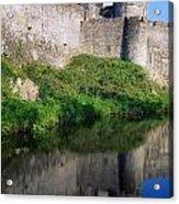 Cahir Castle, River Suir, County Acrylic Print
