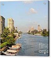 Cairo City Streets Acrylic Print