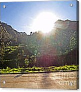 Cajas Mountains Sunset  Ecuador Acrylic Print