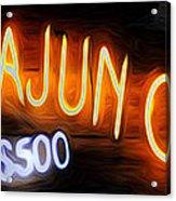 Cajun Casino - Bourbon Street Acrylic Print