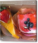 Cakes For Two Acrylic Print