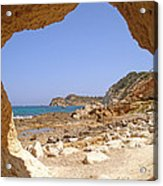 Cala Blanca Beaches Acrylic Print