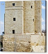 Calahorra Tower In Cordoba Acrylic Print