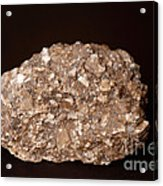 Calcite Under Visible Light Acrylic Print