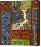 Calendar, 1923 Acrylic Print