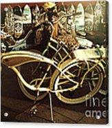 California Beach Bikes And Skateboards Acrylic Print