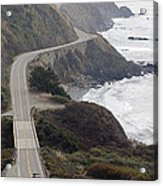 California Highway 1 Or Pacific Coast Acrylic Print