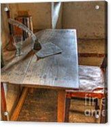 California Mission La Purisima Desk Acrylic Print