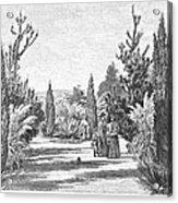 California: Pasadena, 1890 Acrylic Print