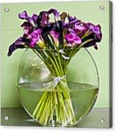 Calla Lilly Arrangement Acrylic Print