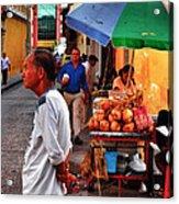 Calle De Coco Acrylic Print