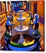 Calle Del Recuerdo Acrylic Print