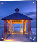 Calm Evening Acrylic Print by Pixel Perfect by Michael Moore