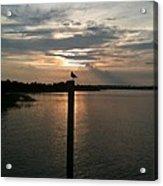 Calm Sunset Acrylic Print