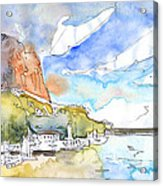 Calpe Harbour 06 Acrylic Print
