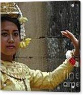 Cambodian Dancer Acrylic Print